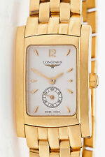 Estate $8000 Longines 18k Yellow Gold LADIES Dress Watch 78g HEAVY Exceptional