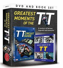 GREATEST MOMENTS OF THE TT DVD & BOOK GIFT SET ISLE OF MAN TT CIRCUIT GUIDE DVD