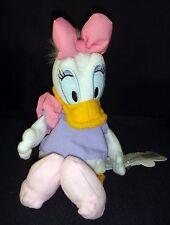 """Disney Store Daisy Duck Mini Plush Doll Bean Bag 9"""" BNWT Collectible"""