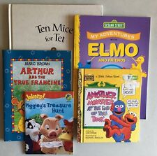 Lot of 5 Children's Books Assorted Stories and Conditions - New and Used