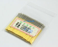 100 Pieces P100-H2 Dia 1.36mm Length 33.35mm Spring Test Probe Pogo Pin