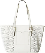 Tignanello Saffiano Leather Summer Lovin Large Tote White NWT