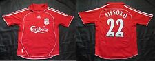 Mohamed Sissoko #22 FC LIVERPOOL jersey shirt ADIDAS 2006-2008 BOY L 164cm 13YRS
