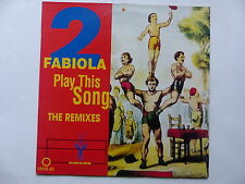 "MAXI 12"" 2 fabiola Play this song 2639 PROMO"
