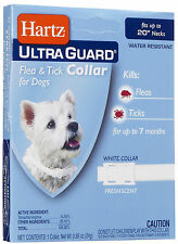 Hartz UltraGuard Flea & Tick Collar for Dogs, Water Resistant