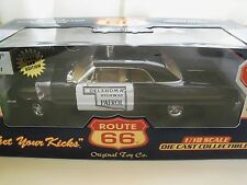 ROUTE 66 ORIGINAL TOY CO. - OKLAHOMA HIGHWAY PATROL 1964 CHEVY IMPALA POLICE CAR