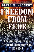 Freedom from Fear: The American People in Depression and War, 1929-1945 (Oxford