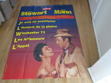 JAMES STEWART Anthony Mann Film Festival 1990s French Grande poster