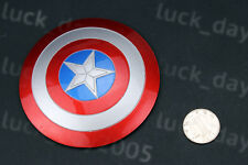 "Custom Captain America Metal Electroplated Shield 1/6 Fit for 12"" action figure"