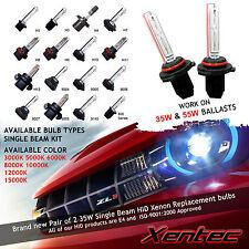 Top Quality Xentec 2 BULBS XENON HID CONVERSION H1 H3 H4 H7 D2S 9006 8000K