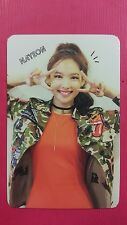 TWICE NAYEON Official Photocard Red (Adult) Ver. 1st Album The Story Begins