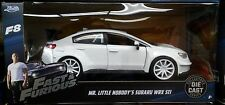 Fast Furious 8 Mr Little Nobodys Subaru WRX STI Diecast Car 1:24 Jada 7in White