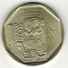 Peru 2013 Coin 1 Nuevo Sol Orgullo y Riquezas Arte Textil Paracas