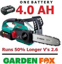 new ( 4.0ah / 36v ) Bosch AKE 30 Li Cordless Chainsaw 0600837170 3165140559393 -