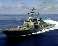 New 8x10 Photo: USS COLE Guided Missile Destroyer Heading for the Mediterranean