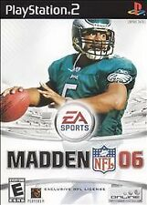 Madden NFL 06 (Sony PlayStation 2, 2005) - European Version
