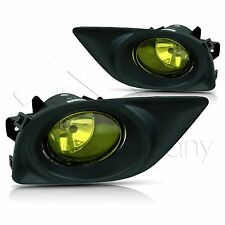 For 12-14 Nissan Versa Fog Light w/Wiring Kit & Wiring Instructions - Yellow