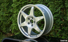 "Hirsch Performance 18"" alloy wheels 6-spoke for SAAB 9-3 9-5 AERO TROLL VIGGEN"