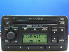 FORD 60006 E RADIO 6 DISC CD PLAYER STEREO FOCUS MONDEO ESCORT FIESTA PUMA 6006E