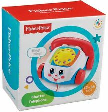 Fisher Price Brilliant Basics Chatter Telephone  - Brand New & Boxed