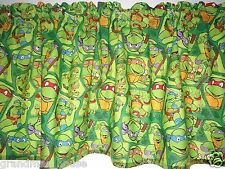 Teenage Mutant Ninja Turtles Childs Curtain Valance 100% Cotton