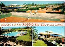 Cartolina Circolo Tennis Reggio Emilia Villa Canali 1977 (GS817)