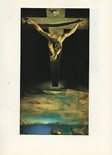 "1976 Vintage SALVADOR DALI ""CHRIST OF SAINT JOHN OF THE CROSS"" COLOR Lithograph"