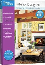 Better Homes and Gardens Interior Designer 8.0 8 PC New in Box