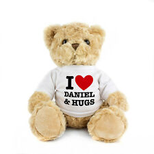 Valentines Day Gift PERSONALISED TEDDY BEAR Boyfriend Girlfriend Birthday Gift