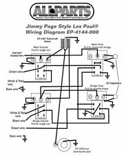 New Gibson Les Paul Jimmy Page Wiring Kit 21 Tonal Options