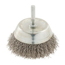 Rotary Stainless Steel Wire Cup Brush 75mm  Grinding Wire Cups