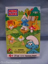 "Mega Bloks Smurfs ""Harmony"" Play Set Factory Sealed NEW"