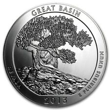 2013 5 oz Silver ATB Great Basin National Park, NV  - Bullion Version Coin