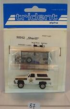 Trident 1/87 No. 90042 Chevrolet Blazer Sheriff Dive Rescue Team OVP #087