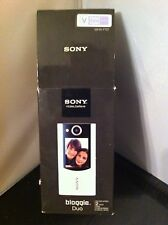 NEW SONY BLOGGIE DUO MHS-FS2/V 4 GB CAMCORDER - PURPLE VIOLET