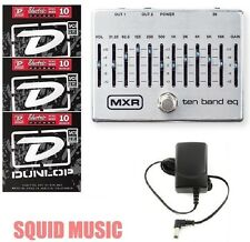MXR Dunlop Ten Band Graphic EQ Pedal M108S M-108S 10 BAND ( 3 STRING SETS )
