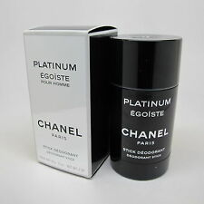 Platinum Egoiste by Chanel 2.0 oz Deodorant Stick NIB