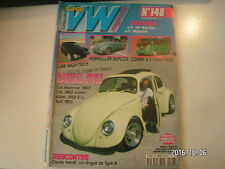 **c Super VW Magazine n°148 Cab High Tech / Combi 23 fenêtres / Cox 1963 Jubson