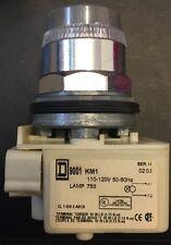 NEW Illuminated Push Button 9001SK1L1 SQUARE D Schneider Electric 9001-SK1L1