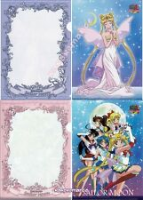 Sailor Moon - Mini Clearfile Folder SET of 2 - Neo Queen Serenity & Senshi