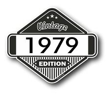 Vintage Edition 1979 Classic Retro Cafe Racer Style Vinyl Motorcycle car sticker