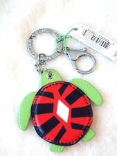 NEW Vera Bradley SEASHORE KEYCHAIN Sun Valley TURTLE NWT