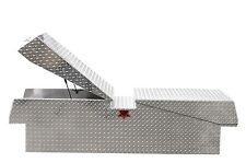 Extra Heavy Duty Diamond Plate Truck Tool Box:Fits Many, Gull Wing Pick UP box