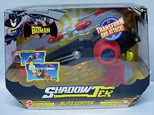 The Batman Shadow Tek Blitz Copter vehicle with Batman Mattel NIP 4+ S106-7