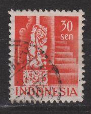 Nr 377 Indonesia Indonesie 27 used gestempeld 1949 Gebouwen