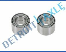 Pair (2) NEW Rear Wheel Hub Bearing Set 2001 - 2008 Ford Focus Drum Brake Only