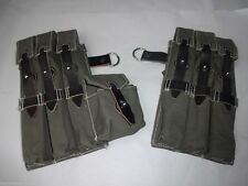 WWII German MP38 / MP40 Magazine Pouch Set - Reproduction