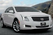 2013-2015 Cadillac XTS Platinum Classic Heavy Mesh 2pc Grille - Black Ice E&G