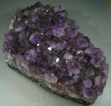 """Large Amethyst Purple Crystal Geode Specimen Brazil 25cm 10"""" 2.83kg  6 lb 3.8 oz"""