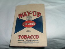 "Vintage Unused  ""Way - Up"" Large 3 oz. Size Chewing Tobacco 1960's"